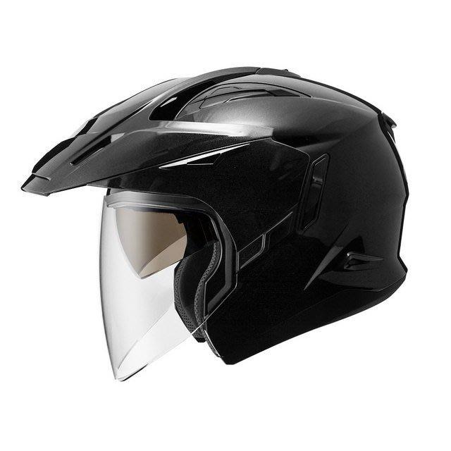 ZEUS 瑞獅安全帽,ZS-613A,素色/黑