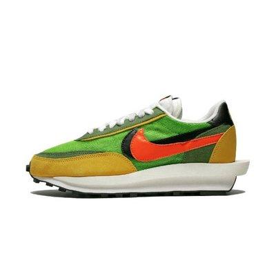 GOSPEL【Sacai x Nike LDV Waffle 】黃綠 復古慢跑鞋 BV0073-300