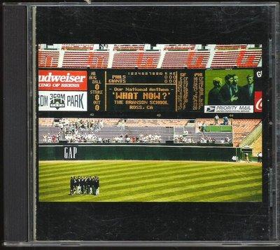 CD-WHAT NOW-WITHOUT A DOUBT-美國製造-無歌詞-有些許輕微刮傷與細紋[不影響播放]