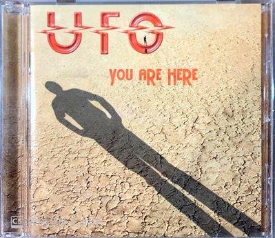 【搖滾帝國】德國重金屬(Heavy Metal)樂團UFO You Are Here 2004年發行專輯 全新進口品