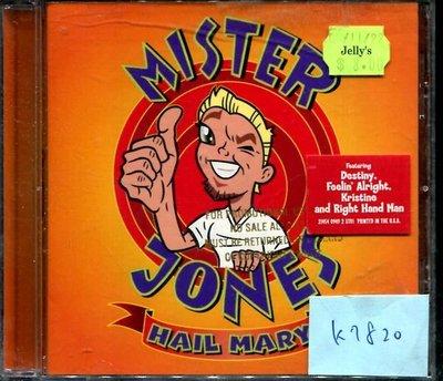 *真音樂* MISTER JONES / HAIL MARY 美版 二手 K7820 (大降價.下標賣1)