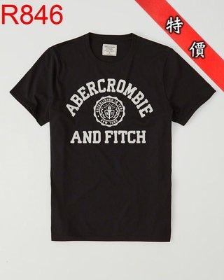 【西寧鹿】AF a&f Abercrombie & Fitch HCO  T-SHIRT 絕對真貨 可面交 R846