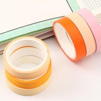 松島純色基礎系列和紙膠帶 手帳貼紙(6...