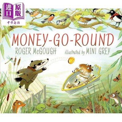 Money-Go-Round 循環再造的錢 精品繪本 低幼故事繪本睡前讀物 獲獎作家 精裝 英文 3-6歲