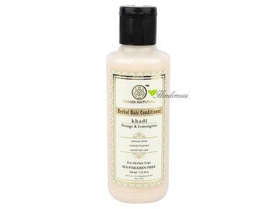 Khadi 草本香橙檸檬草潤髮乳 Orange & Lemongrass Hair Conditioner 210ml