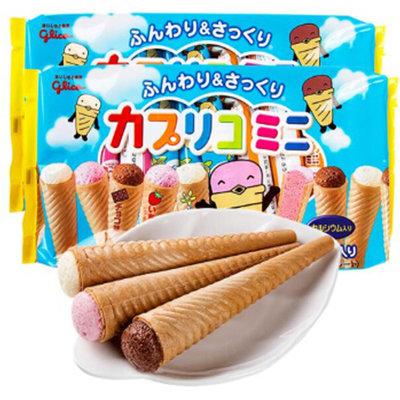 #悠西將# {現貨} 日本固力果Gligo 格力高 綜合迷你甜筒 冰淇淋 餅乾 固力果甜筒 甜筒餅乾 三味甜筒