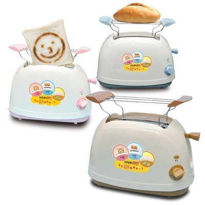 QQ 全新 KRIA 可利亞 烘烤 二用 笑臉 麵包機 三色可選 KR-8003 KR-8002 KR-8001 新北市