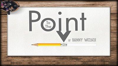 【天天魔法】【S715】正宗原廠~鉛筆幻覺~To the Point  by Danny Weiser