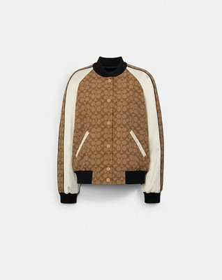 COACH Reversible Souvenir Jacket With Horse And Carriage