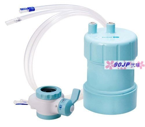 【90JP日本代購】日本製Purifree~水龍頭淨水器(型號PF-B4)藍色~3250元