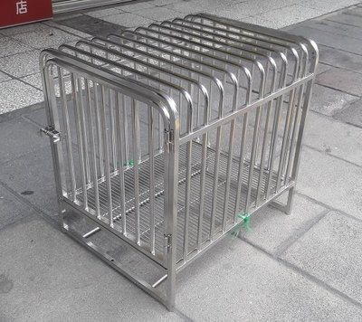 白鐵波樂籠(中小型犬適用,自取另有優惠)~