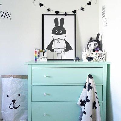 Sis 歐美 框畫 兒童房 掛畫 裝飾 簡約 時尚 嬰兒房 室內設計 IKEA 家飾品 (33*43公分)