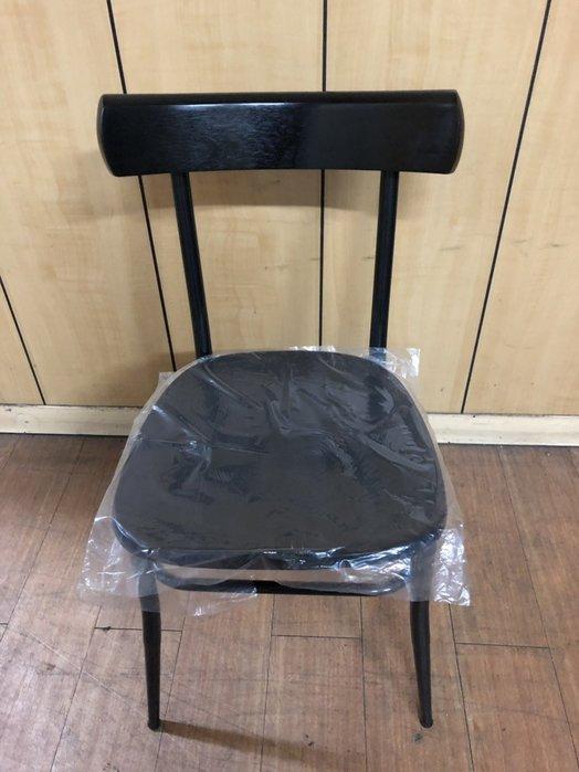 非凡二手家具 全新 烤黑胡桃實木美巧餐椅*餐椅*洽談椅*麻將椅*辦公椅*接待椅*電腦椅*化妝椅*房間椅*沙發椅*咖啡椅*