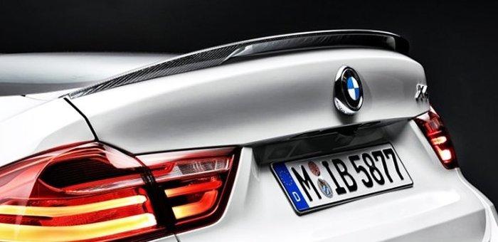 【樂駒】BMW 原廠 F26 X4 M Performance 碳纖維 carbon 尾翼 後擾流 空力 外觀 套件