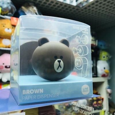 全新 2018 韓國直購 LINE FRIENDS Brown 熊大 廁紙架 現貨(可旺角門市交收)另有SALLY款
