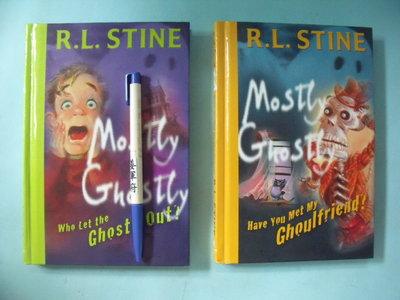 【姜軍府童書館】《MOSTLY GHOSTLY 共2本合售!》英文小說 R. L. STINE 英語 鬼故事