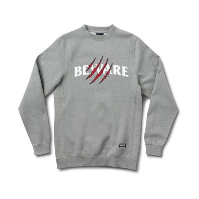 [WESTYLE] Grizzly Griptape Wounded Crewneck 灰 大學TEE