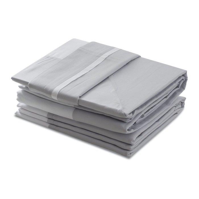 〖洋碼頭〗法國原產BLANCDESVOSGES緞紋棉安布瓦斯系列枕套枕頭套 L3059