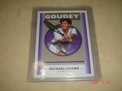 網球 Tennis 張德培 Michael Chang 2019 UD Goodwin Champions  球員卡