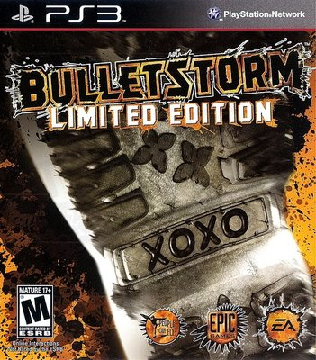 【二手遊戲】PS3 狂彈風暴 BulletStorm LIMITED EDITION 英文版【台中恐龍電玩】