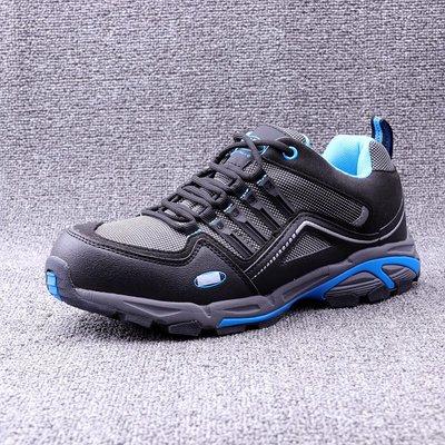 【TOP MAN】 外單鋼頭保護防砸防穿刺透氣工作鞋作業安全鞋登山鋼頭20412050