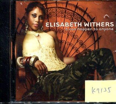 *真音樂* ELISABETH WITHERS / IT CAN 二手 K7135 (封面底破)(大降價.下標賣3)