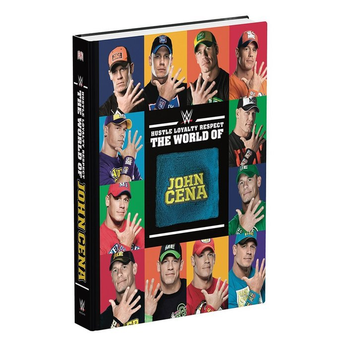 ☆阿Su倉庫☆WWE摔角 The World of John Cena Hardcover Book CENA彩色精裝本