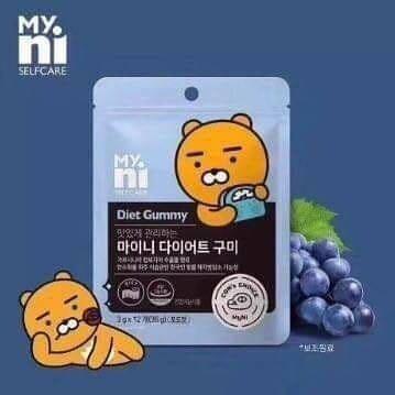 韓國Kakao friends diet gummy 減肥瘦身軟糖🇰🇷 마이니 다이어트구미 🇰🇷