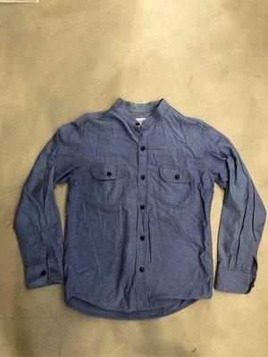 Tenderloin 單寧長袖立領襯衫
