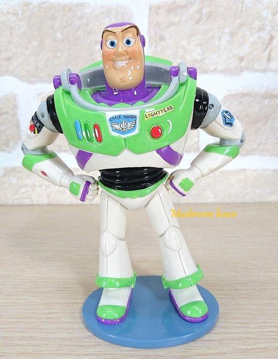 點點蘑菇屋 正廠美國迪士尼愛木小灣-巴斯光年擺飾 玩具總動員 公仔 Disney經典動畫 原廠盒裝 現貨