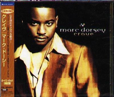 K - Marc Dorsey - Crave - 日版 +3BONUS - NEW