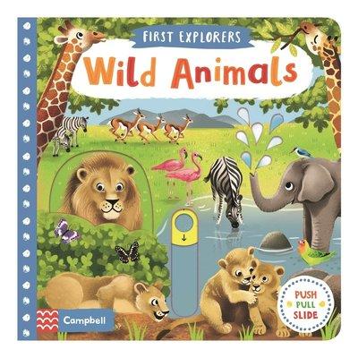 *小貝比的家*FIRST EXPLORER:WILD ANIMALS/硬頁書/3~6歲/拉拉書
