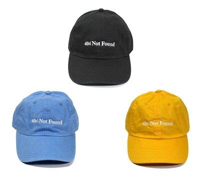 { POISON } PORT FREEMANS x CHAMPION 404 NOT FOUND CAP 聯名彎沿老帽