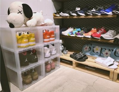 【MASS】Sneaker Mob 球鞋收納展示盒 6件組 6個一組
