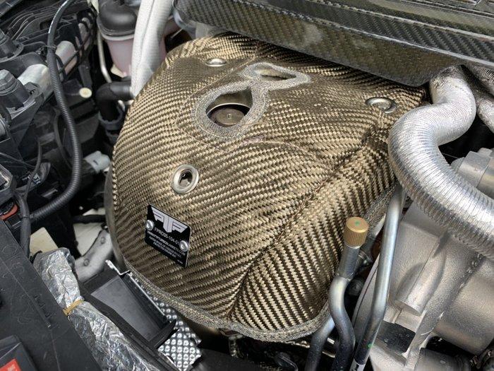 ☆光速改裝精品☆ PTP TURBO 渦輪隔熱罩 防熱罩 BENZ  CLA45  GLA45 A45