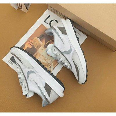 """sacai x Nike LDV Waffle """"Nylon"""" BV0073-101 白色 /黑色 皮革"""