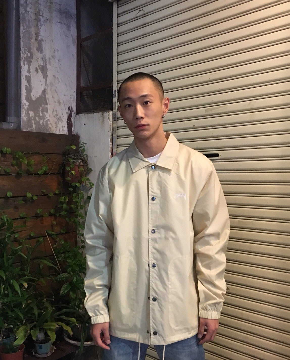 【Faithful】STUSSY SUMMER COACH JACKET 教練外套 卡其