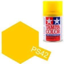 創億RC 田宮 PS-42 半透明黃噴罐 TAMIYA Spray Translucent Yellow