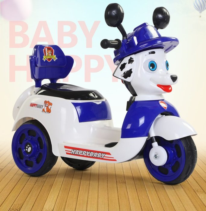 佳佳玩具 --- 汪汪隊 毛毛 阿奇 兒童三輪車 兒童電動車 兒童摩托車 電動機車【03XT5288】