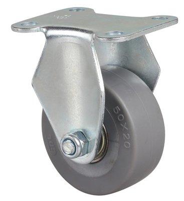 港灣之星-腳輪 小型2寸35kg定向人造膠(TPE)腳輪 26102-262-56