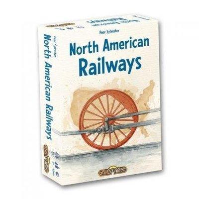(海山桌遊城) 送牌套 North American Railways 北美鐵路 英文版正版桌遊