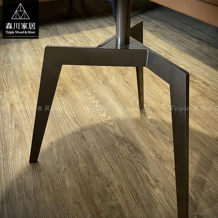 《森川家居》PLT-50LT06-現代輕奢三腳微晶石圓几組 茶几客廳起居室民宿/餐廳設計/美式LOFT品東西IKEA