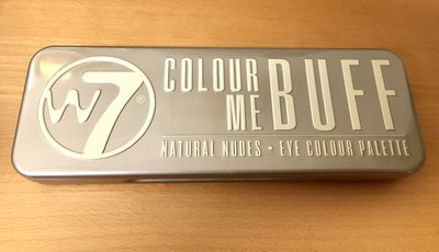 w7 IN THE NUDE。眼影盤 Colour Me Buff。共12色。大地亮系。