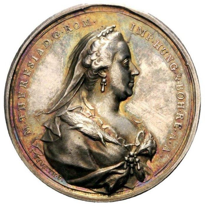 奧地利銀章 1765 Austria Maria Theresa of Habsburg Medal