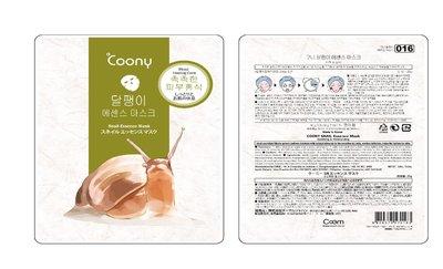 【韓國正品Coony】天絲頂級蝸牛精華面膜5片/盒 10片/2盒送1片