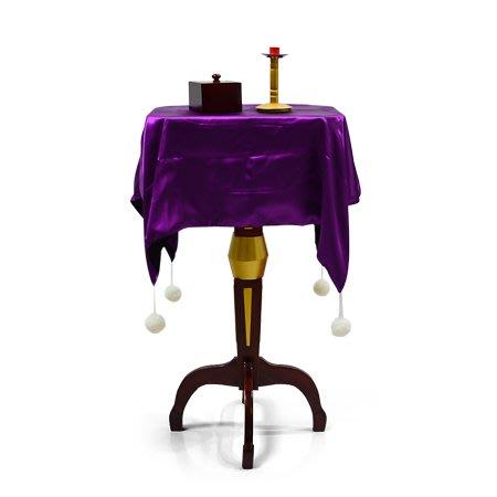【天天魔法】【1780】浮桌(多功能大漂浮桌)(送反重力小木盒和大燭台)(圓形)