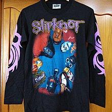 90's vintage The Roxx 滑結樂團 Slipknot 古著 樂團tee