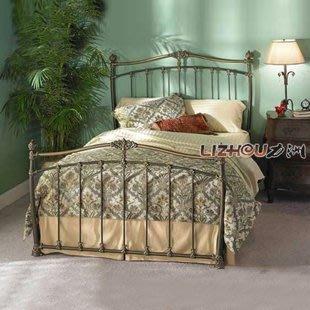 INPHIC-田園 歐式鐵藝床中式床 複式床 雙人床1.5