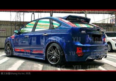 福特 FORD FOCUS MK2 WRC 後下巴 空力套件 05 06 07 08