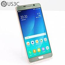 【US3C-高雄店】三星 Samsung Galaxy Note 5 SM-N9208 5.7吋 32GB 粉紅金 指紋辨識 空機 二手手機